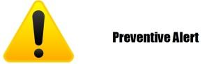 kH - Yellow Preventive Alert