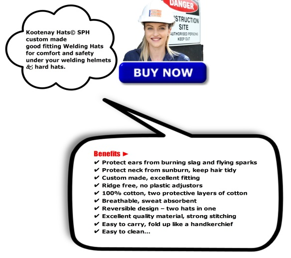 Benefits of Canadian Custom Made Welding Hats
