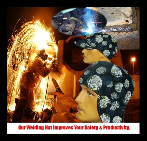 Our Welding Hats Improves Your Safety And Productivity