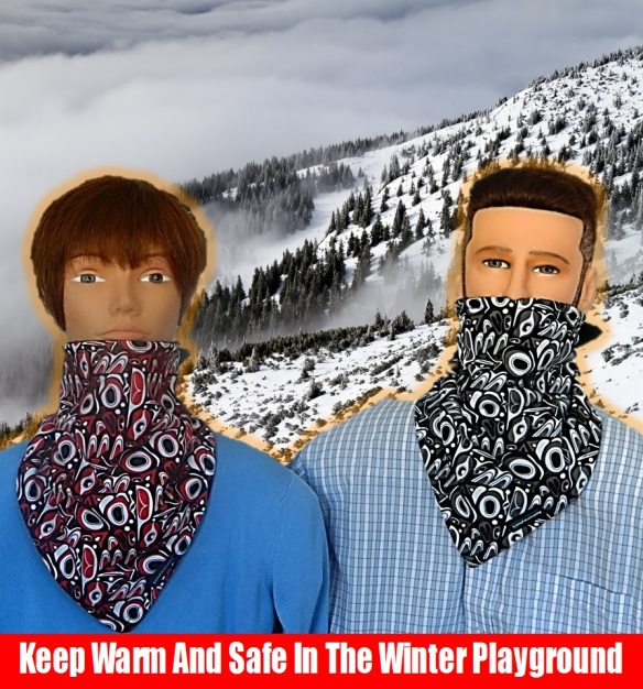 Keep Warm And Safe In The Winter Playground