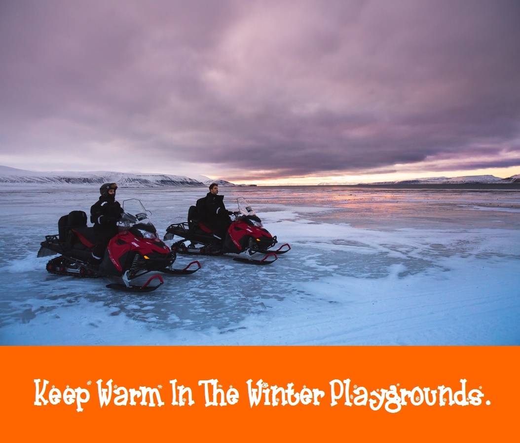 Keep Warm In The Winter Playground