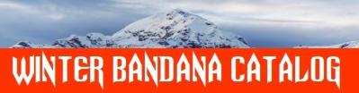 Winter Fleece Lined Bandana Catalog