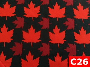 Comfortable Welding Hats With Maple Leaf On Black