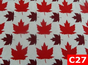 Comfortable Welding Hats With Maple Leaf on White