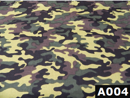 Green Camo fabric 100% cotton Canadian custom made welding hats for Tradespeople who love camouflage design PPE