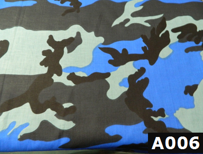 Royal Camo Blue fabric 100% cotton Canadian custom made welding hats for Tradespeople who love camouflage design PPE