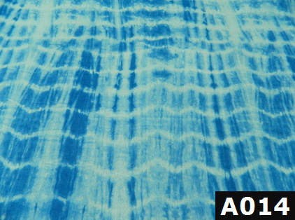 Blue Tie Dye fabric 100% cotton Canadian custom made welding hats for Tradespeople who love Tie Dye design PPE