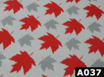 Maple Leaves On Grey fabric 100% cotton Canadian custom made welding hats for Tradespeople who love bold design PPE