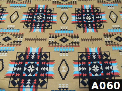 Native Blanket Prints Tan fabric 100% cotton Canadian custom made welding hats for Tradespeople who love native art designs PPE