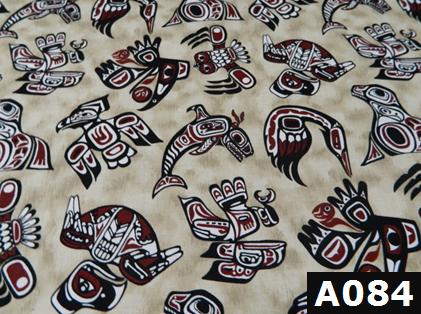Haida Gwaii fabric 100% cotton Canadian custom made welding hats for Tradespeople who love native art designs PPE