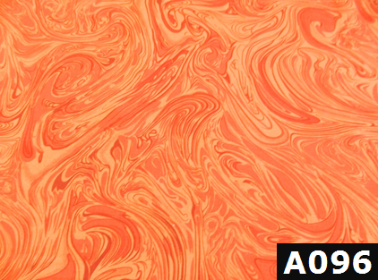 Bright Orange Marble fabric 100% cotton Canadian custom made welding hats for Tradespeople who love swirl designs PPE