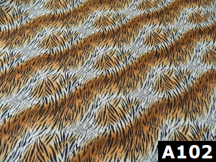 Tiger Stripes fabric 100% cotton Canadian custom made welding hats for Tradespeople who love stripe designs PPE