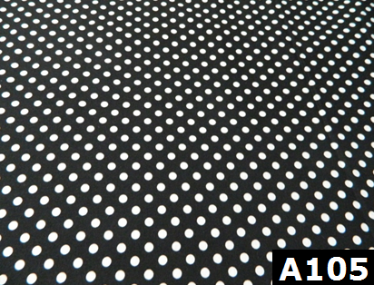 Medium Polka Dots On Black 100% cotton Canadian custom made welding hats for Tradespeople who love classic designs PPE