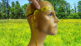 Measure Your Head Circumference Above The Eyebrows And Decide Your Hat Size and Order Your Canada Custom Made Reversible Welding Hats Caps www.KootenayHats.com