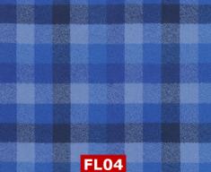 Flannel Kaufman Blue Checks 100% Cotton Canadian Custom Made Welding Hats For Tradespeople www.KootenayHats.com