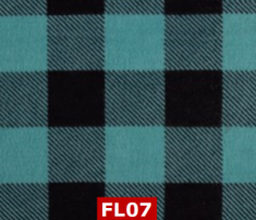 Flannel Teal Checks 100% Cotton Canadian Custom Made Welding Hats For Tradespeople www.KootenayHats.com