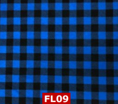 Flannel Blue Checks 100% cotton Canadian Custom Made Welding Hats For Tradespeople