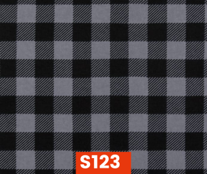 S123 Flannel Grey Check Fleece Lined Fall Winter Safety Scarf Bandana To Keep Warm Safe Productive In Cold Environment Custom Made For Tradespeople Families And Friends In Cold Environment Made Perfect Gifts www.kootenayHats.com