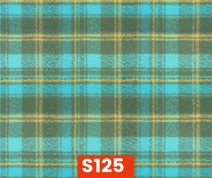 S125 Flannel Kaufman Green Blue Yellow Fleece Lined Fall Winter Safety Scarf Bandana To Keep Warm Safe Productive In Cold Environment Custom Made For Tradespeople Families And Friends In Cold Environment Made Perfect Gifts www.kootenayHats.com