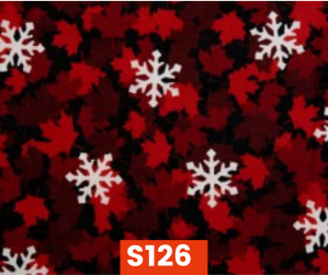 S126 Flannel Snowflakes On Red Fleece Lined Fall Winter Safety Scarf Bandana To Keep Warm Safe Productive In Cold Environment Custom Made For Tradespeople Families And Friends In Cold Environment Made Perfect Gifts www.kootenayHats.com