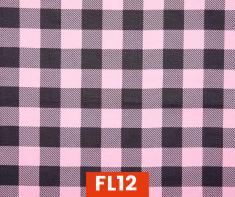 Flannel Buffalo Plaid Pink 1 Inch 100% Cotton Canadian Custom Made Welding Hats For Tradespeople www.KootenayHats.com